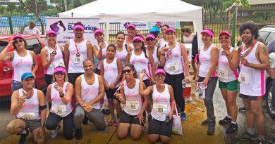 Corrida e Caminhada de Prevenção ao Câncer de Mama foi uma festa