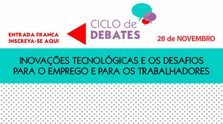 Sindicato promove novo ciclo de debates no dia 28, participe!