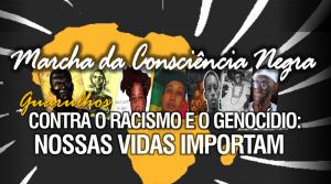 Marcha da Consciência Negra neste dia 20 de Novembro