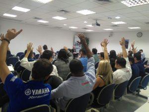 Assembleia Geral Extraordinária dos empregados do Banco Yamaha Motor do Brasil S/A