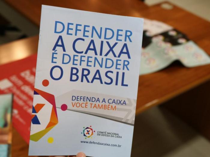 No aniversário da Caixa, Bancários e movimentos sociais lançam comitê para defender instituição