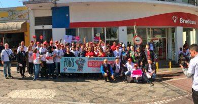 Caravana da Fetec mobiliza categoria em Guarulhos