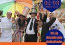 Carnaval é na Arribapé Turismo