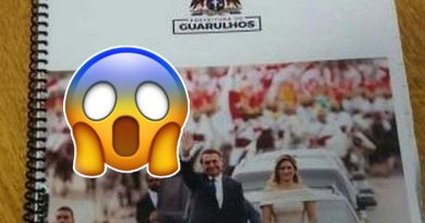 Escola de Guarulhos distribui apostila com foto de Bolsonaro
