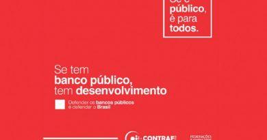 Maioria das cidades brasileiras ficaria sem agências bancárias se bancos públicos fossem privatizados