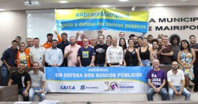 Sindicato realiza audiências em defesa dos Bancos Públicos