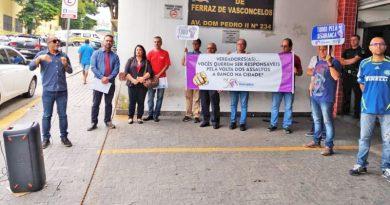 Vereadores de Ferraz de Vasconcelos cedem a pressão do Santander e votam contra segurança dos bancários